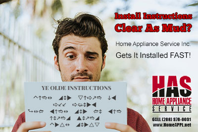 idaho appliance installation