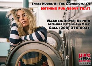 boise washer repair